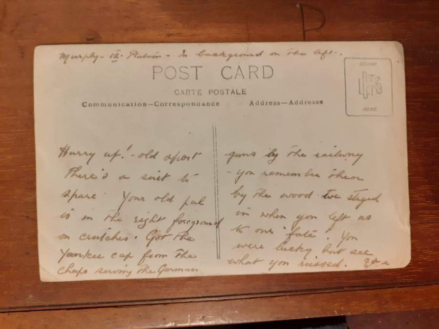 Postcard Text