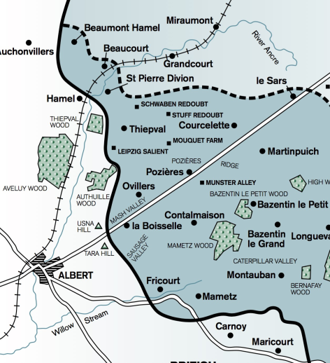 Somme Map